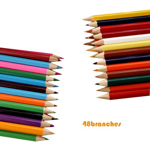48 Colors Professional Oil Color Wooden Pencil Drawing