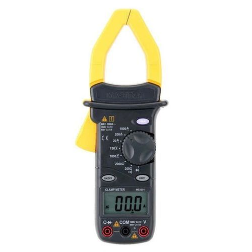 MS2001f Digital AC Clamp Meter & Diode Tester W/ Frequency Testing - MS2001F