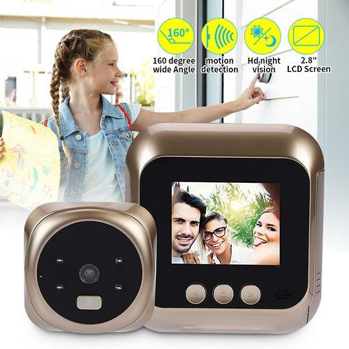 2.4'' TFT LCD Video Cam Door Viewer Smart Peephole Doorbell Night Vision Camera