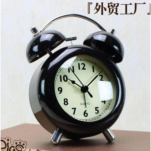 Creative Alarm Clock Alarm Mute Students Watch Luminous Bedroom Minimalist Modern Home Fashion Cute Children's Clock