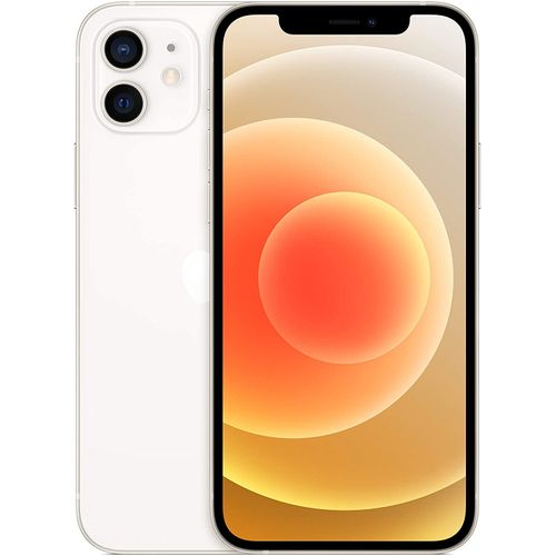 Iphone 12 Dual Sim 6.1 Inches 4GB RAM, 128GB ROM, (12MP + 12MP), 2815mAh-5G-White