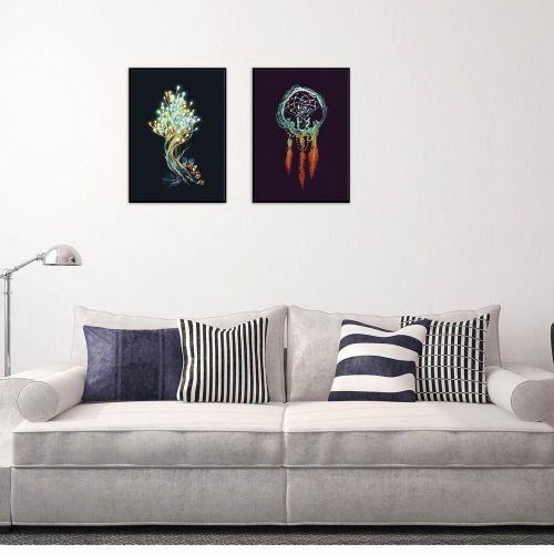 1PCS Abstract Pattern Wall Painting Picture Home Office Decor Painting & Calligraphy