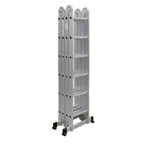Foldable Multipurpose Aluminium Ladder 6x4