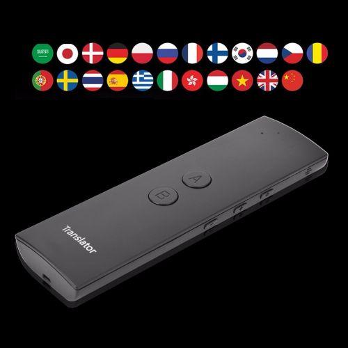 T6 Intelligent Portable Smart Voice Translator Two-Way Real Time Multi-language Interpretation Translator DJLAB