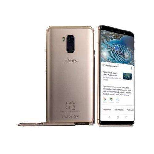 Note 5 Pro Stylus (X605) X Pen 6-Inch FHD+ Infinity (64GB ROM, 4GB RAM) Android One, 16MP + 16MP Hybrid Dual SIM 4G LTE 4000mAh