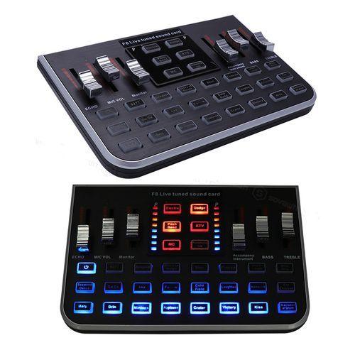 Live Sound Card Microphone Mixer Audio Digital Multifunction