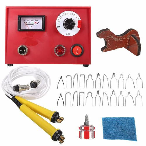 50W Pyrography Machine Wood Burning Station 2 Pen Set Wood Craft Draw Tool 220V