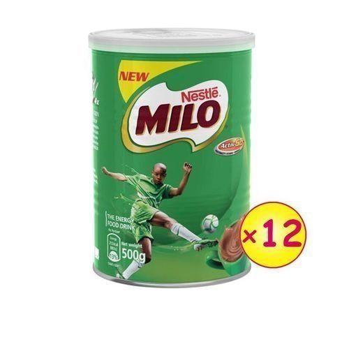 Nestle Milo Tin 500g - Carton X 12