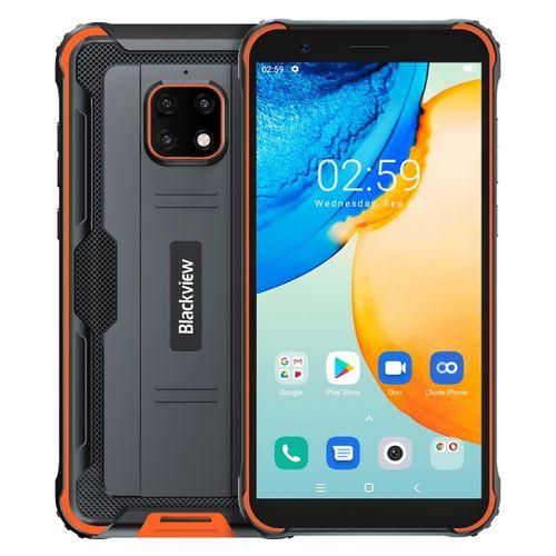 BV4900 Pro Rugged Phone, 4GB+64GB, Quad Back Cameras, 5.7 Inch Android 10 Smartphone - Orange