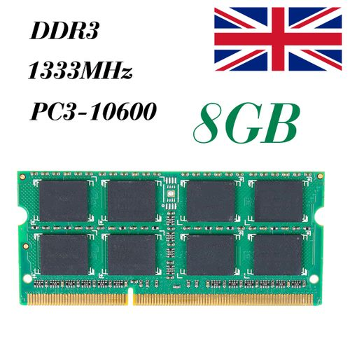 NEW Memory 8GB Ram Laptop Notebook DDR3 PC3 10600S 10600 1333 MHz 204 Pin SODIMM Lot