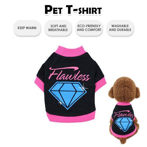 Pet Shirts Dog T-Shirts Printed Pet Clothes Pet Spring