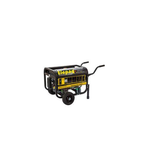 3.5kva Elepaq Generator With Key Battery & Tyres