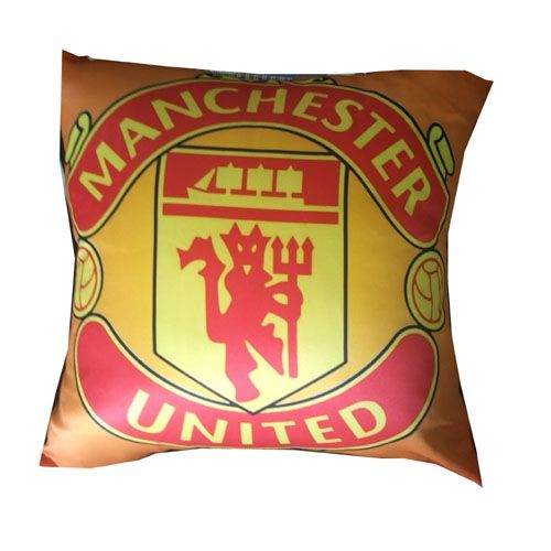 18x18 Throw Pillow Manchester United Printed Fabric