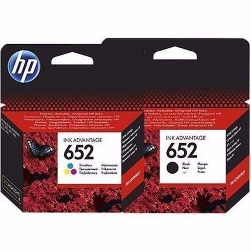 652 Printer Ink Advantage Cartridge - Black & Tri-colour