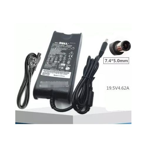 19.5v 4.62a Dell Laptop Charger With Power Cable