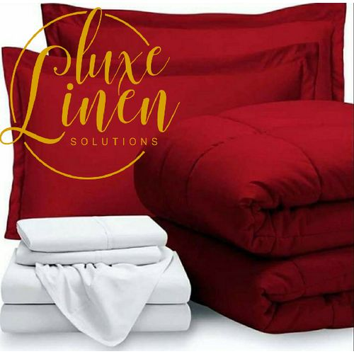 Duvet, Bedsheets With Pillowcases