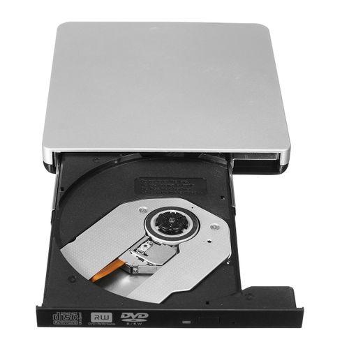 USB2.0 External DVD ROM Player Reader Combo CD-RW Burner Drive For PC Mac Laptop