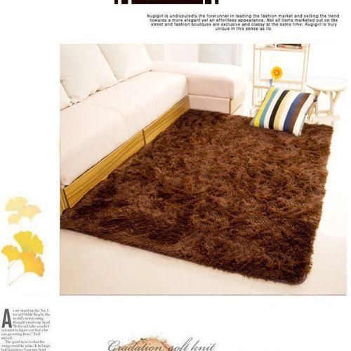 120x160cm European Home Soft Shaggy Carpet For Living Room