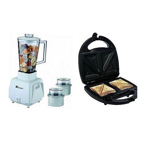 Blender 3in 1+Toaster
