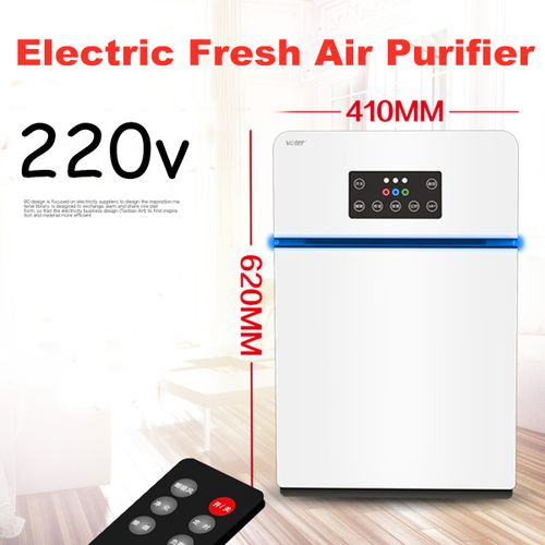 220v Fresh Air Purifier Formaldehyde Remove Negative Ionizer Cleaner Home Office