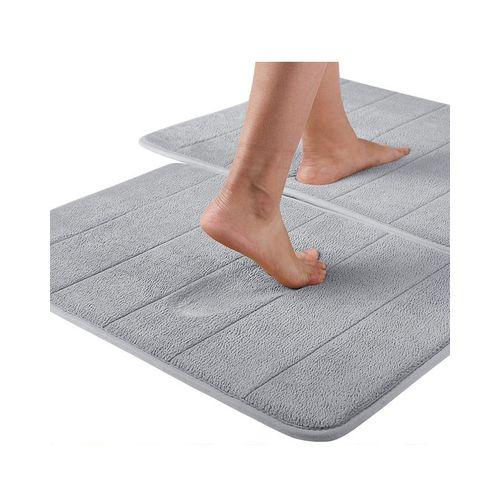 Water Absorbent Non-slip Bathroom Mats Shower Carpet