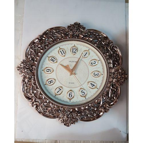 Rose Gold Decorative Clock