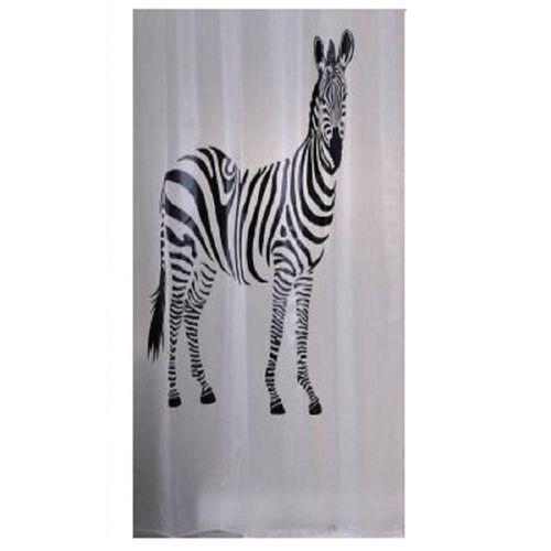 Benji Zebra Shower Curtain