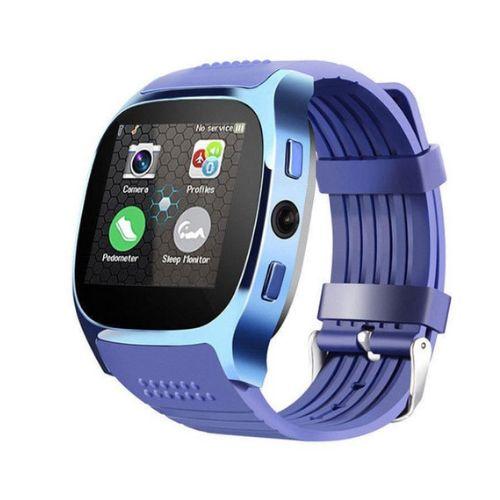 T8 SmartWatch Phone Watch Blood Pressure Watch Fit Blue