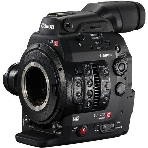EOS C300 Mark II Cinema Camcorder Body - Black