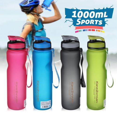 1000ml Outdoor Sports Drinking Water Bottle Leakproof Gym Cycling Travel UK