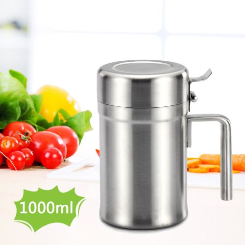 Stainless Steel Oil Dispenser Oil Can Olive Oil Can Edible