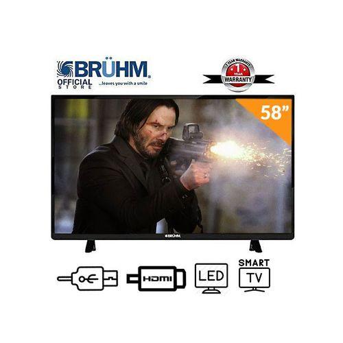 58-Inch Smart 4K UHD LED TV+Wall Bracket+12 Months Warranty