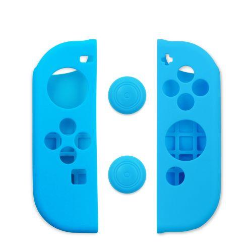 Arbitt Cokebox Soft Touch Rubber Protection Nintendo Side Case (BLUE)