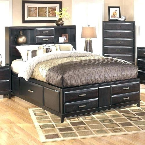 Malisha 6by6 Bed+Chest Drawer+Pillows-Free Lagos Delivery.