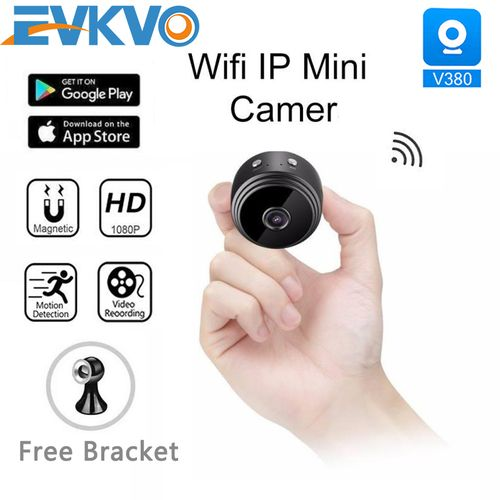 V380 FHD 1080P Mini WiFi IP Camera Built-in Battery CCTV Wireless Micro Cam Night Vision Home Monitor
