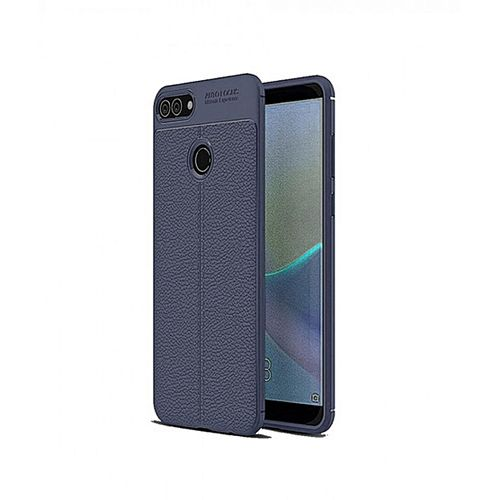 Infinix Hot6 Pro Silicone Litchi Pattern TPU Anti-knock Phon