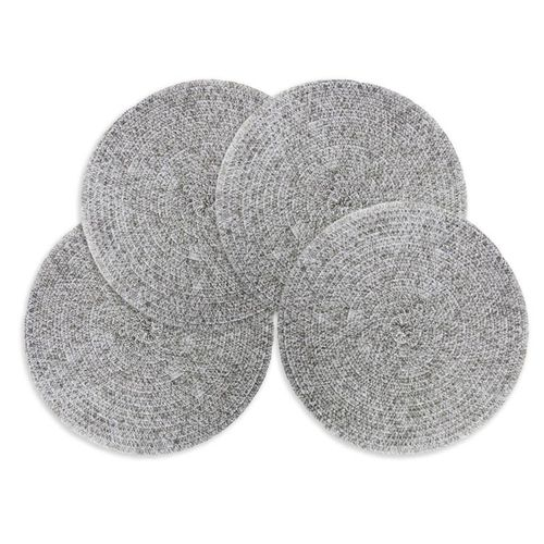 Round Braided Placemats Heat Insulation Table Mats