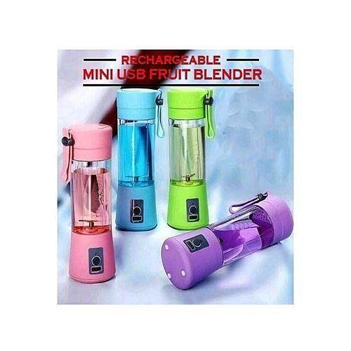 3 Pcs Portable Rechargeable Fruit Blender
