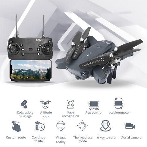 HJ30 Foldable RC Drone With Camera 2.4Ghz RC Quadcopter