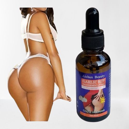 Natural Garlic Hip Enlargement And Lifting Essential Oil For Bigger Buttocks Butt