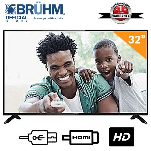 32-Inch BFP-32LEW LED TV- Black with FREE Wall Bracket