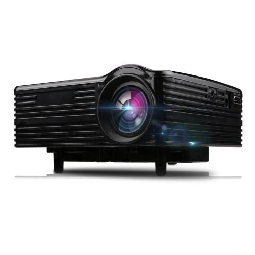 Excelvan LED-1018 Mini Portable LCD Projector - Black