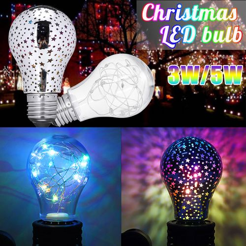 Christmas LED Light Bulb E27 Starry Fairy String Radiation Xmas Party Lamp ?