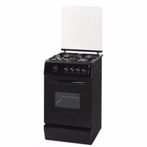 TEC Supreme Gas Cooker - 4 Burners - Black