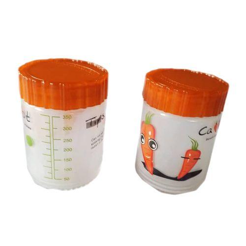 2 Glass Storage Jars