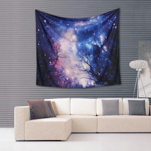 Galaxy Hanging Wall Hippie Tapestry Yoga Beach Towel 150x130