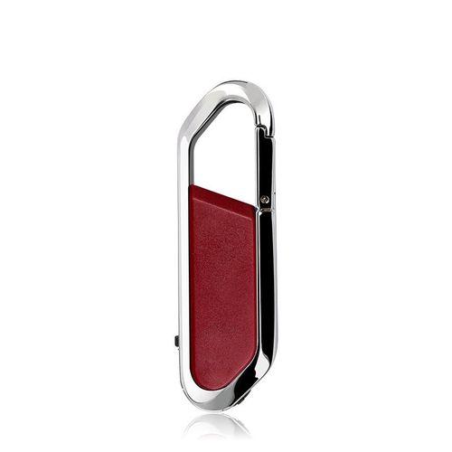 4GB USB 2.0 Metal USB Flash Drives U Disk (Red)