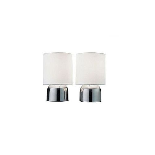Touch Table Lamp Pair