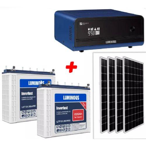1.5kva Hybrid Inverter With Rugged 200ah Batteries