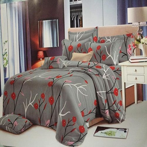 Quality Duvet,Bedsheets With Pillowcases + Duvet Bag.gray